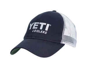 YETI Trucker Hat Blue White One Size Fits All b040333318f9