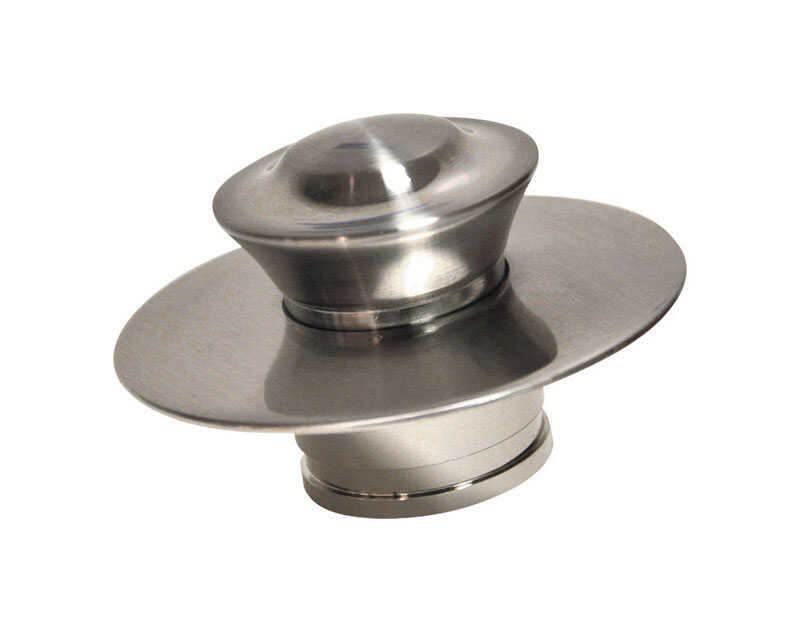Danco  3 in. Nickel  Round  Drain Cover