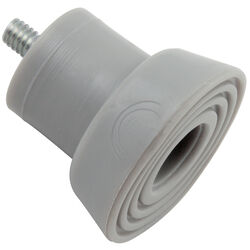 National Hardware  Rubber  Gray  Door Stop Replacement Tip  Mounts to door