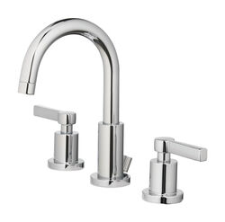 OakBrook  Modena  Chrome  Widespread  Lavatory Pop-Up Faucet  8 in.