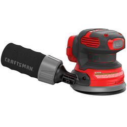 Craftsman  20V MAX  5 in. Cordless  Random Orbit Sander  Bare Tool  20 volt 12000 opm Red