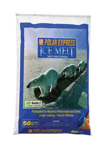 Polar Express  Blended  Ice Melt  50 lb. Granule and Flake