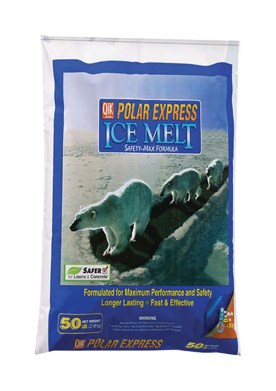 Polar Express  Polar Express  Blended  Granule and Flake  Ice Melt  50 lb.