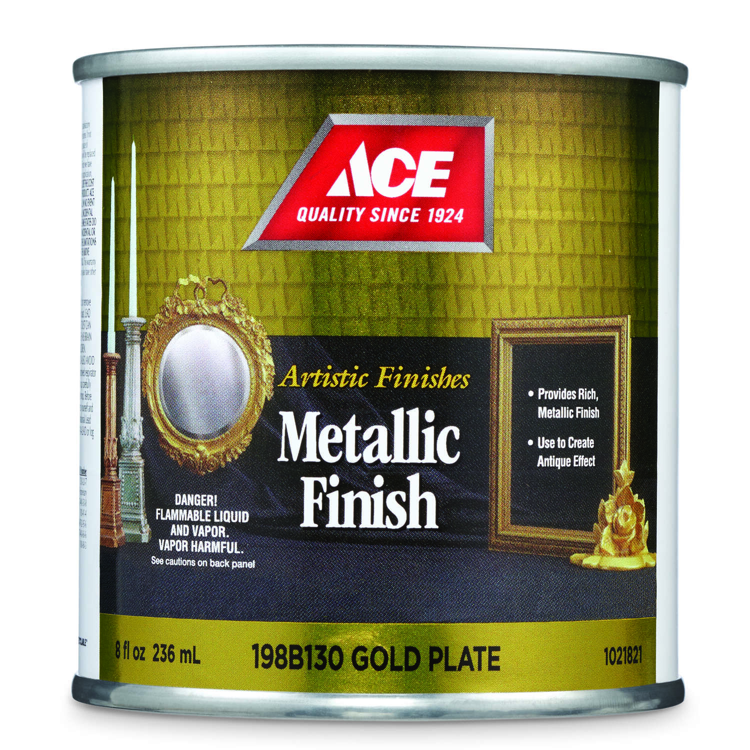 Ace  Artistic Finishes  Metallic  Gold Plate  Solvent-Based  Solvent-based Paint  Indoor  691 g/L 0.