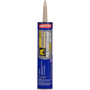 Loctite  PL  Gray  Polyurethane  Filler and Sealant  10 oz.
