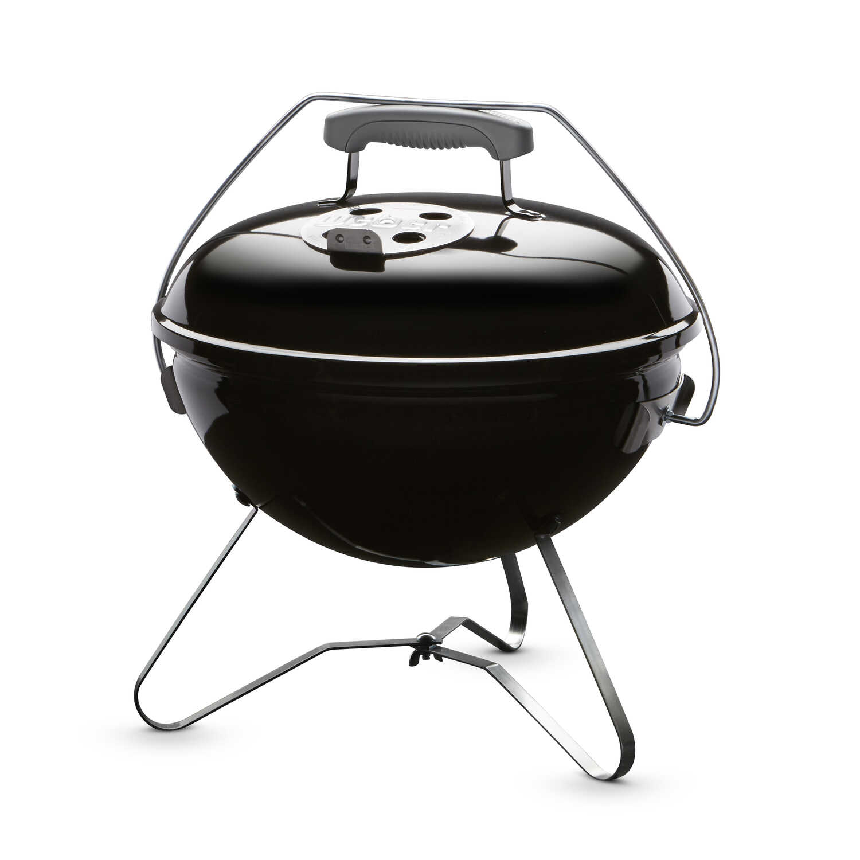 weber smokey joe premium charcoal 14 in w black portable grill ace hardware. Black Bedroom Furniture Sets. Home Design Ideas