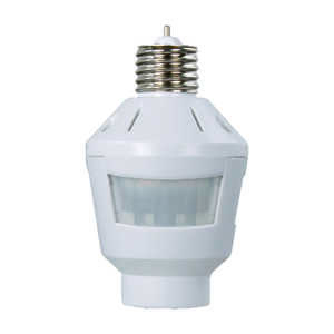 Amertac  White  Motion Activated  1 pk Light Control