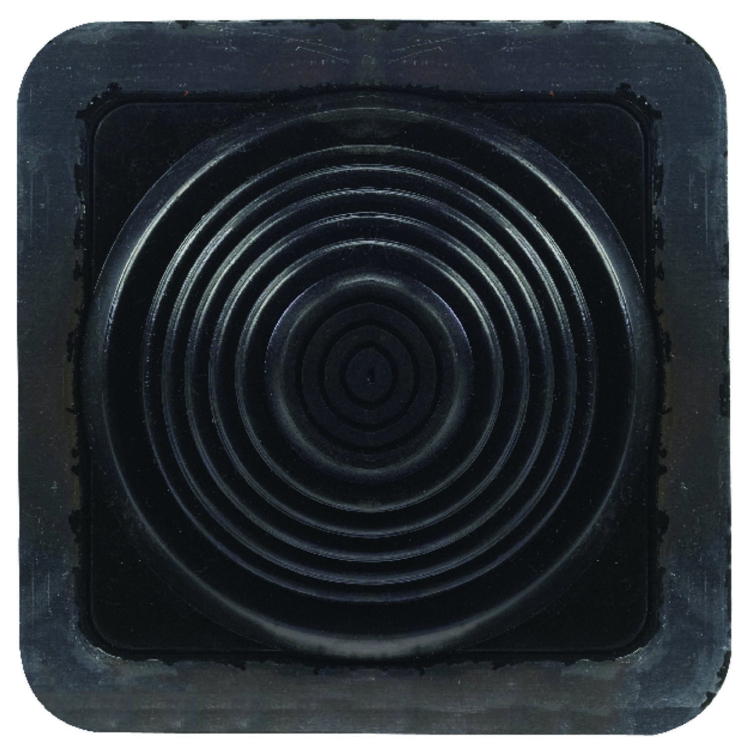 Oatey  Master Flash  1/4 to 4 in. H x 8 in. W x 8 in. L Metal/Plastic/Rubber  Roof Flashing  Square