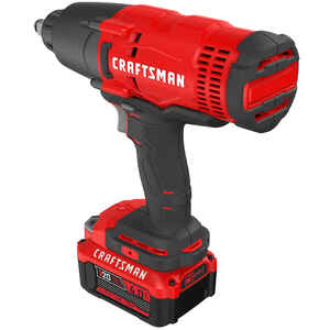 Craftsman  20V MAX  1/2 in. Square  Cordless  Impact Wrench  Kit 20 volt 2500 ipm 330 ft./lbs.