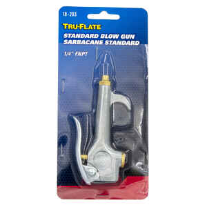 Tru-Flate  Steel  Pocket Size Lever  Air Blow Gun Safety Lever  1/4 in. FNPT  1 pc.