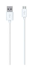 Belkin  MIXIT UP  4 ft. L x 4 ft. L Cell Phone Accessories  White  For Android