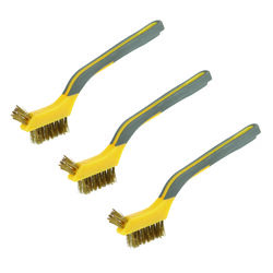 Ace  7 in. L Brass  Mini Bristle Brush