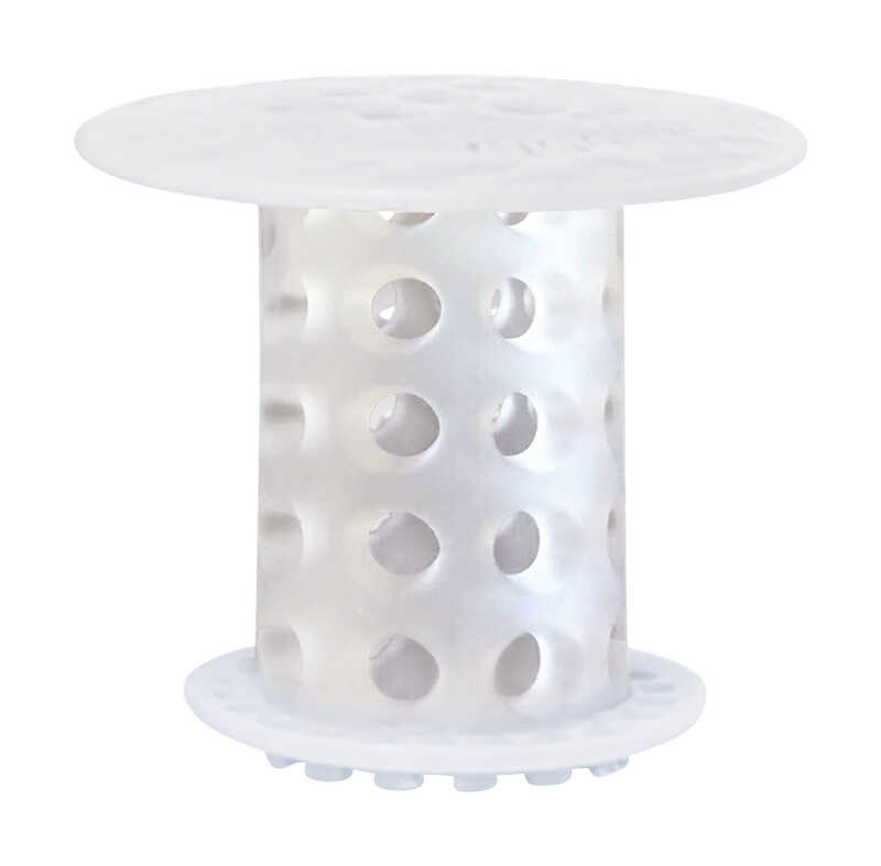 Tub Shroom 2 in. Clear Silicone Round Drain Hair Catcher - Ace Hardware