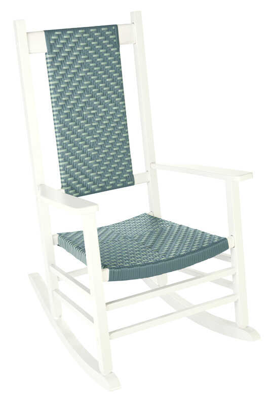Jack-Post  Classic  White  Wood  Knollwood  Rocking Chair