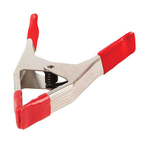Bessey  2 in. Steel  Spring Clamp  33 lb. capacity Red