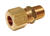 Dial 1/4 in. H x 1/8 in. W Brass Male Union