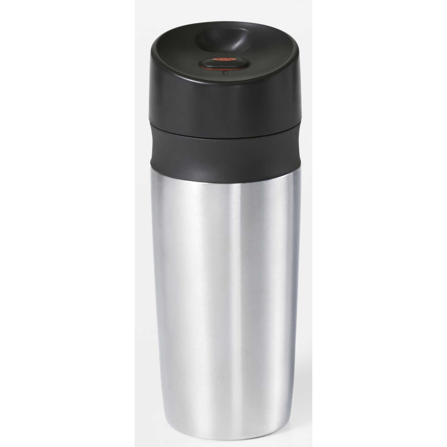 OXO  Good Grips  Silver  Stainless Steel  Travel Mug  BPA Free 18 oz.