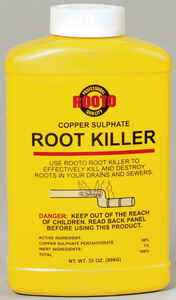 Rooto  Crystal  Root Killer  32 oz.