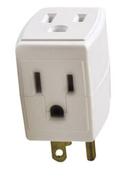Ace  Grounded  3 outlets Adapter  Surge Protection 1 pk