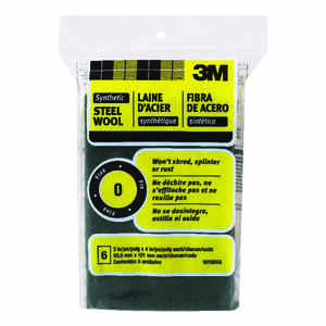 3M  0  Fine  6  Steel Wool Pad