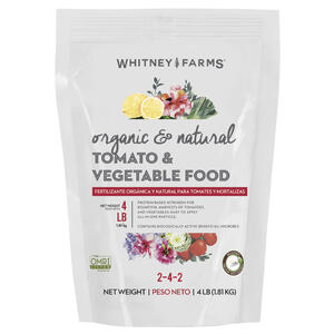 Whitney Farms  Tomato & Vegetable  Granules  Organic Plant Food  4 lb.