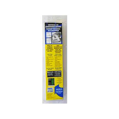 AC Safe  White  Steel  Universal Air Conditioner Support  80 lb.