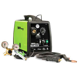 Forney  190 amps 230 volt DC  MIG  Wire Feed Welder  63 lb. Green