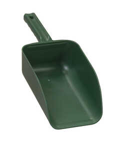 Poly Pro Tools  Hand Scoop  32oz  Green  Plastic