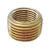 JMF 1/2 in. MPT x 3/8 in. Dia. FPT Brass Pipe Face Bushing