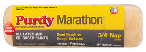 Purdy  Marathon  Synthetic Blend  3/4 in.  x 9 in. W Regular  Paint Roller Cover  For Semi-Smooth Su
