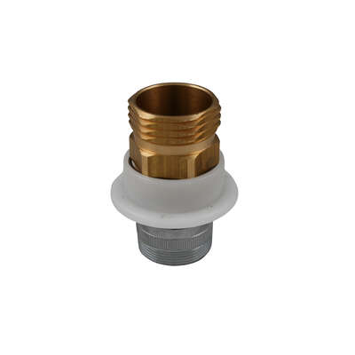 Plumb Pak  Quick Connect  Brass  3/4 in. Dia. Hose Adapter  1 pk