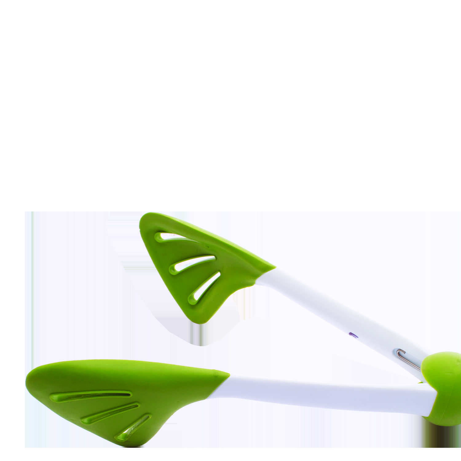 Chef'n  Ergosphere  3 in. L Green  Tongs