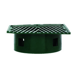 NDS  Plastic  4 in. Dia. Drainage Emitter