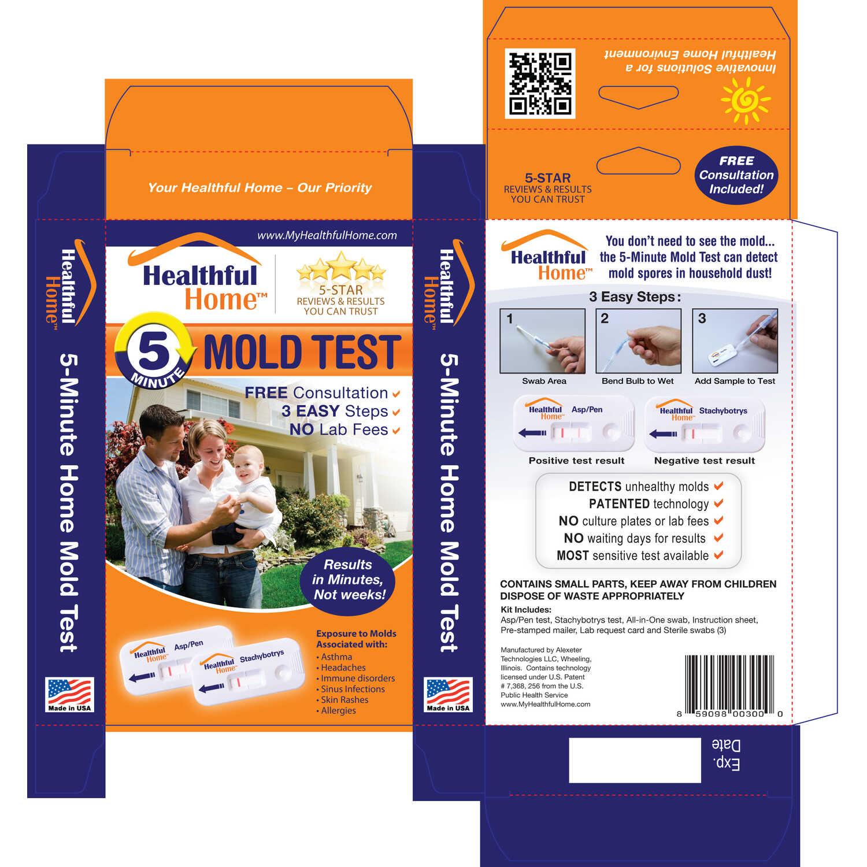 Healthful Home Alexeter Technologies Mold Test Kit 1 pk