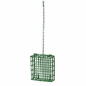 Heath  Wild Bird  1  Suet  Bird Feeder  Metal