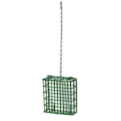 Heath  Wild Bird  Metal  Suet  Bird Feeder  1 ports