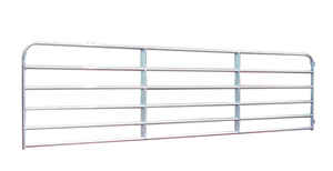 Behlen Country  120 in. L Galvanized  Steel  Utility Tube Gate  1 pk