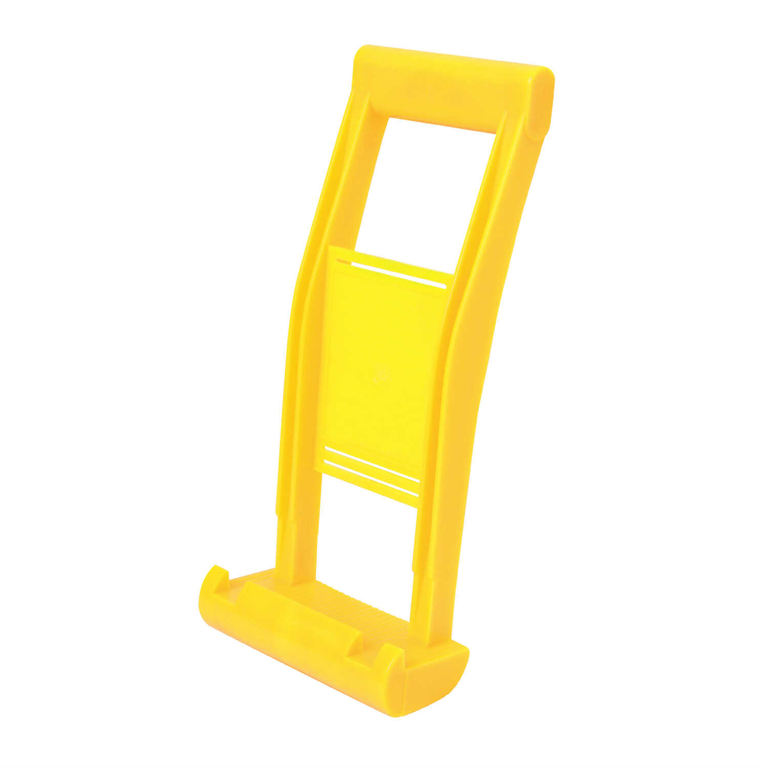 Stanley  High Visibility Yellow  Plastic  Panel Carrier  14 in. H x 6 in. W x 14 in. L