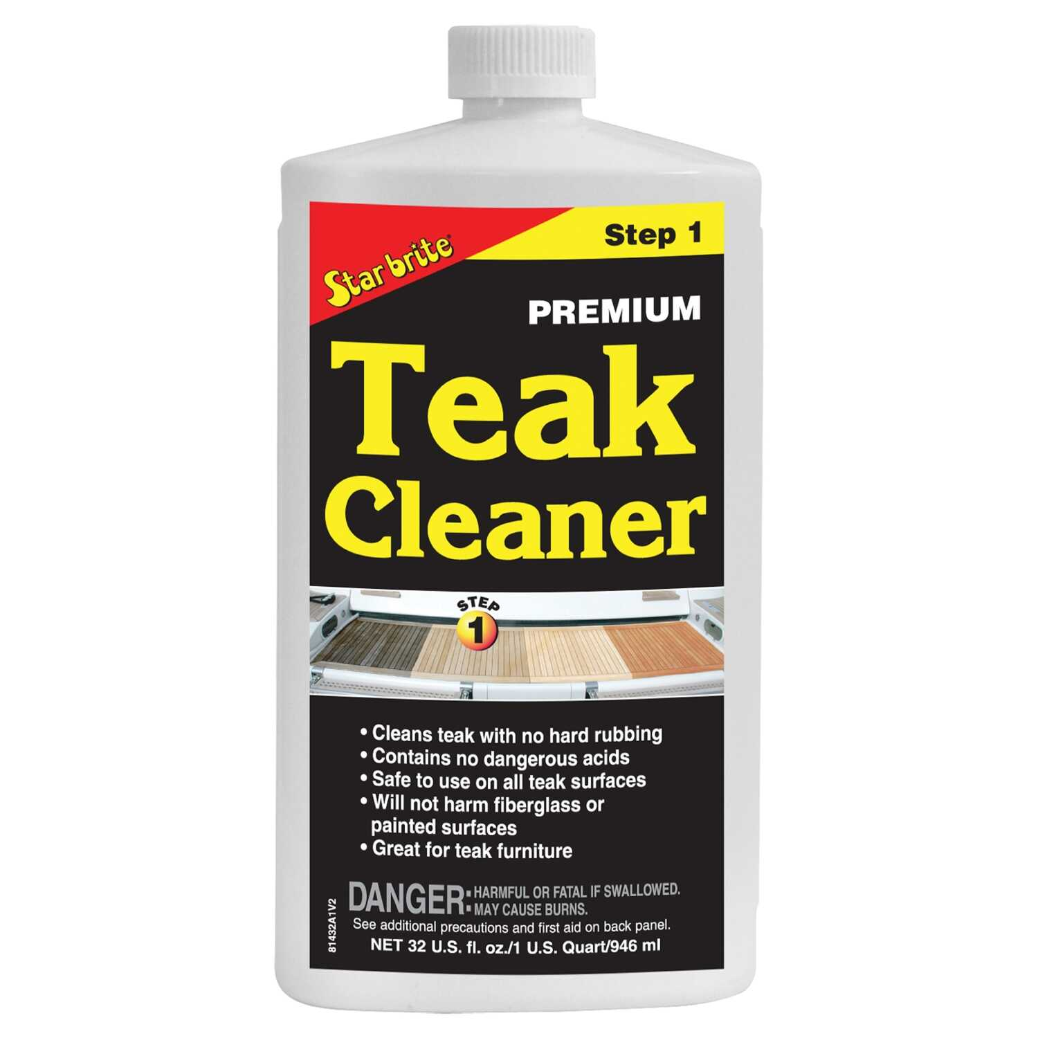 Star Brite Teak Cleaner 32 Oz Ace Hardware