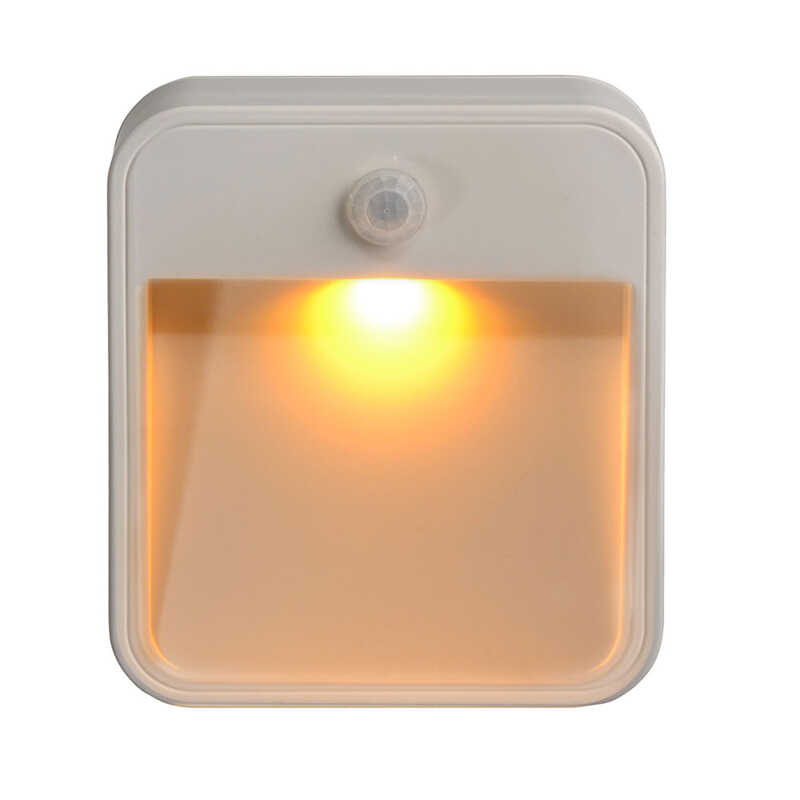 Mr Beams Automatic Battery Powered Amber Led Night Light