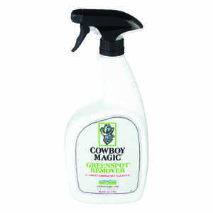 Cowboy Magic  Liquid  Greenspot Remover  For Horse 32 oz.