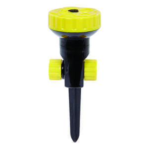 Ace  Plastic  Turret Sprinkler  314 sq. ft. Spike Base