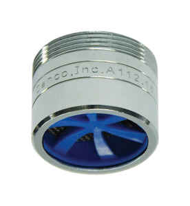 Danco  Dual Thread Aerator Adapter  15/16 in.  x 55/64 in.  Chrome