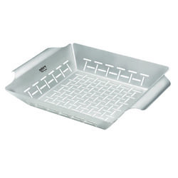 Weber  Style  Grill Basket  Stainless Steel
