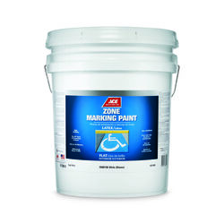 Ace  White  Traffic Zone Marking Paint  5 gal.