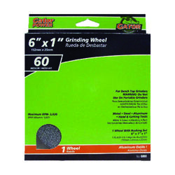 Gator 6 in. Dia. x 1 in. thick x 1 in. Grinding Wheel 1 pc.
