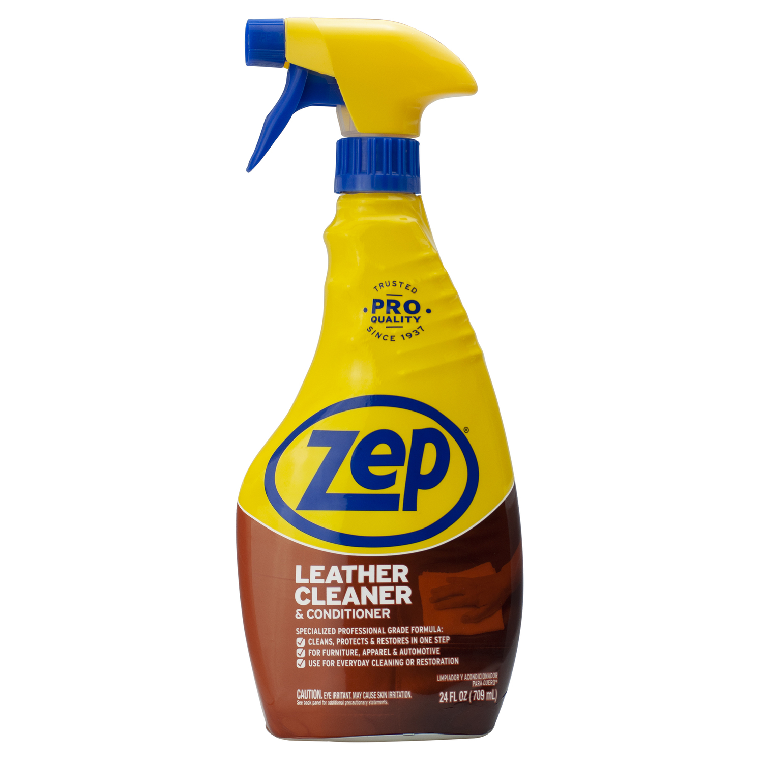 Zep No Scent Leather Cleaner And Conditioner 24 oz. Liquid