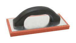 Marshalltown 4 in. W x 9 in. L Rubber Float Fine