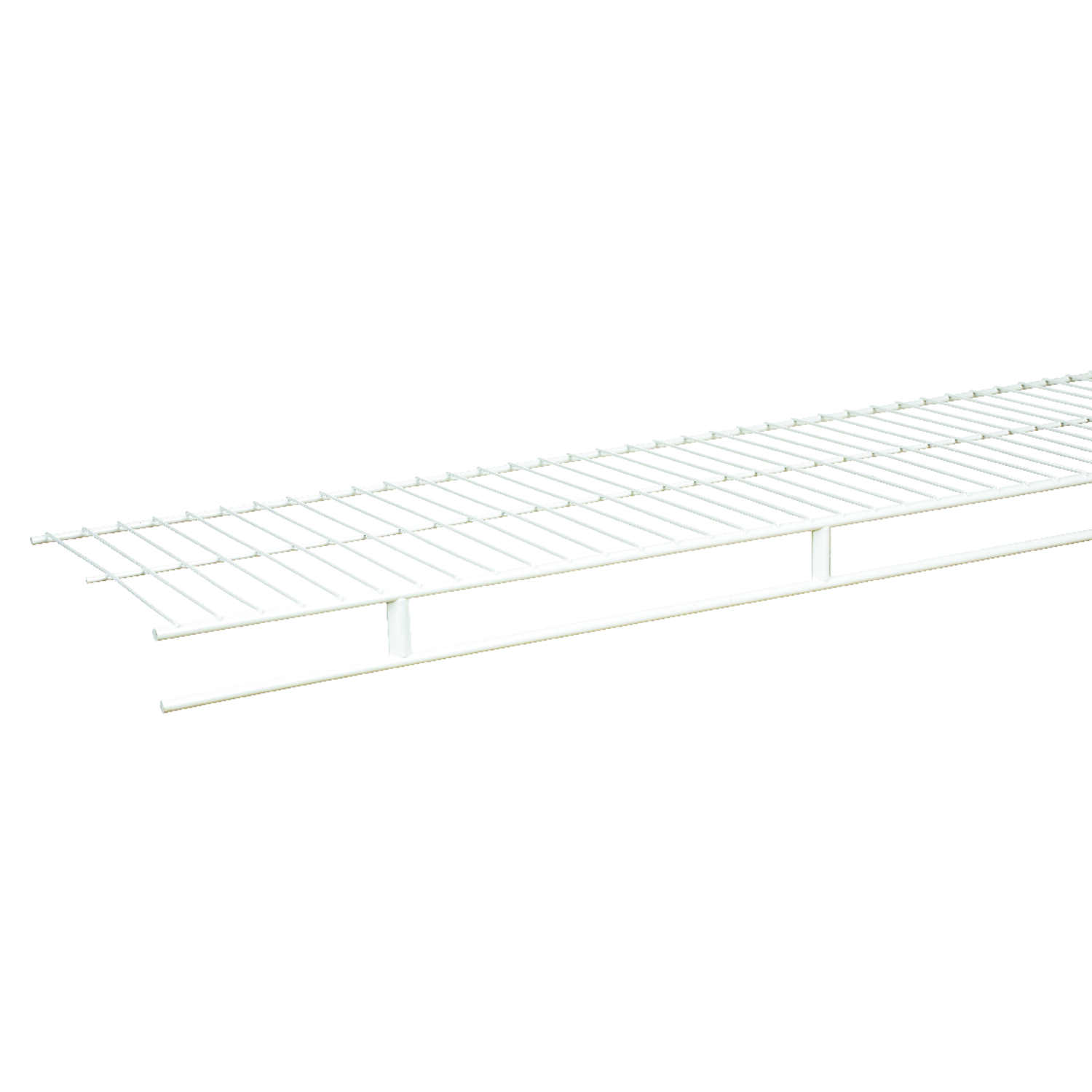 Rubbermaid  12 in. W x 1.9 in. L x 96 in. H Steel  1 each Wardrobe Shelf