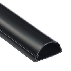 D-Line Maxi 39 in. L Black PVC Cord Cover